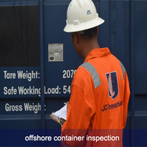 Offshore Container Inspections